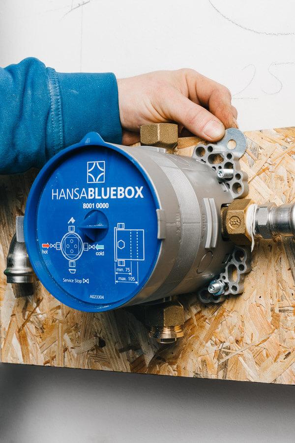 Vapiano Hansa Bluebox Einbau